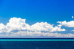 Beautiful sea in a summer day in Italy Royalty Free Stock Photos