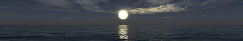 Beautiful sea sunset on the beach Royalty Free Stock Photography