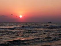 Beautiful sea sunset Royalty Free Stock Photo