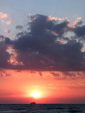 Beautiful sea sunset Royalty Free Stock Photography