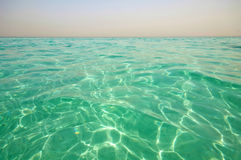 Beautiful sea surface on a sunny summer day Royalty Free Stock Image