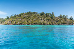 Beautiful sea of Surin island. In Andaman seascape Koh rok, Thailand Royalty Free Stock Photos