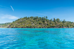 Beautiful sea of Surin island. In Andaman seascape Koh rok, Thailand Stock Image
