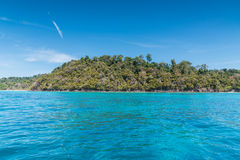 Beautiful sea of Surin island. In Andaman seascape Koh rok, Thailand Royalty Free Stock Photo