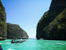 Beautiful sea of thailand stock images