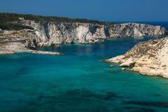Beautiful sea of Tremiti island in the Gargano national park Royalty Free Stock Image