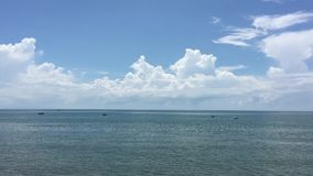 Beautiful sea of Vietnam. Beautiful sea in Phan Thiet, southern Vietnam stock video