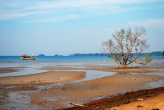 Beautiful sea view at Koh Mak Stock Photo