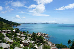 Beautiful sea view, Koh Samui, Thailand. Beautiful sea view on Koh Samui, Thailand Stock Image