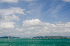 Beautiful sea view of Langkawi Stock Photos