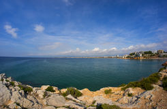 Beautiful sea view Stock Images