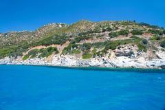 Beautiful sea of Villasimius Stock Image