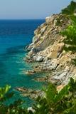 Beautiful sea of Villasimius Royalty Free Stock Image