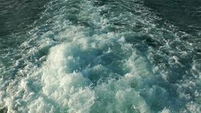 Beautiful Sea Water Nature and Holiday Concept stock video