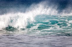 Beautiful sea wave Royalty Free Stock Image
