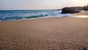 Beautiful sea waves ,rocks at kanyakumari .india. Beautiful sea waves ,rocksat kanyakumari india.beautiful rocks ,rushing waves stock photo