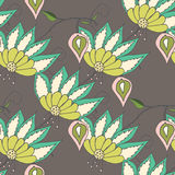 Beautiful seamles floral pattern Royalty Free Stock Photos