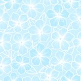 Beautiful seamless background of white and blue co Stock Photography