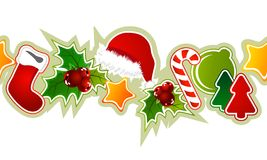 Beautiful seamless christmas pattern Stock Photo
