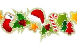Beautiful seamless christmas pattern Stock Photo