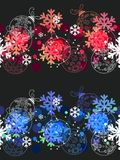 Beautiful seamless Christmas pattern. Stock Images