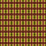 Beautiful seamless eastern carpet decoration pattern, abstract ornament of round and square or rhombus elements. The texture backg Royalty Free Stock Image
