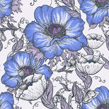 Beautiful Seamless Floral Background royalty free illustration