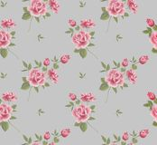 Beautiful seamless floral pattern, flower vector Stock Images