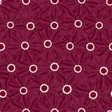 Beautiful seamless floral pattern . Flower vector illustration. Field of flowers.  Royalty Free Stock Photography
