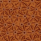 Beautiful seamless floral pattern . Flower vector illustration. Field of flowers.  Royalty Free Stock Photo