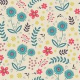 Beautiful seamless floral pattern Stock Photo