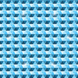 Beautiful seamless hexagon pattern background Royalty Free Stock Photography