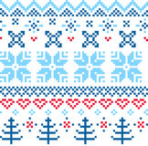 Beautiful seamless Norway pattern Stock Photo