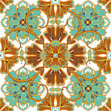 Beautiful seamless ornamental tile background vector illustration. Stock Photography