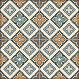 Beautiful seamless ornamental tile background vector illustration. Stock Image