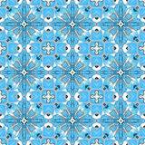 Beautiful seamless ornamental tile background vector illustration Royalty Free Stock Photo