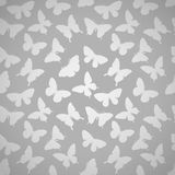 Beautiful seamless pattern with butterflies. Stock Photography