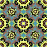 Beautiful seamless pattern. decorative elements vector illustration Royalty Free Stock Photo