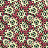 Beautiful seamless pattern. decorative elements vector illustration. (vector eps 10 Royalty Free Stock Photos