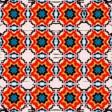Beautiful seamless pattern. Decorative elements. vector illustration Stock Photography