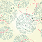 Beautiful seamless pattern with lace snowflakes, background for winter holidays,. Vector illustration Royalty Free Stock Photography