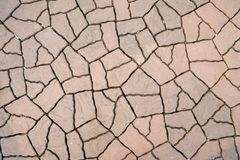 Beautiful seamless pattern of orange and brown cobblestones. royalty free stock image