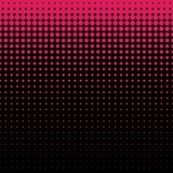 Beautiful seamless pattern with pink polka dots background Stock Image