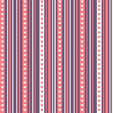 Beautiful seamless patterns ready for valentine`s day vector illustration