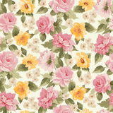 Beautiful Seamless peony pattern Royalty Free Stock Photo