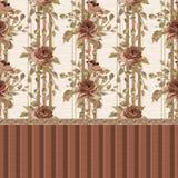 Beautiful Seamless peony pattern Royalty Free Stock Images