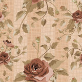 Beautiful Seamless peony pattern Royalty Free Stock Photos