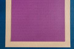 Beautiful seamless purple wallpaper Stock Image