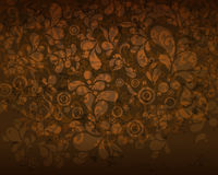 Beautiful seamless vintage floral background Stock Images