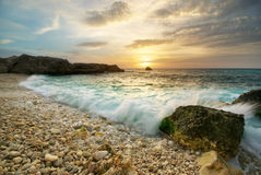 Beautiful seascape. Stock Images